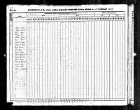 Edward Charles Thomas(1815- ) U.S.Census Perry, Marion County, IN 1840
