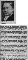 Short article about Charles Penrose as Editor, date unknown.