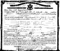 Simon Horwitz USA Citizenship papers