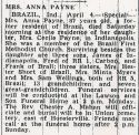 Anna E. Phillips (1872-1959), Obituary