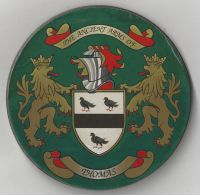 Thomas family coat of arms (produced in England)
