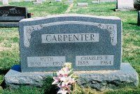 Ruth Whittington (1892-1952) & Charles E. Carpenter (1888-1964)