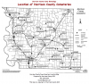 Harrison County Map of Cemeteries