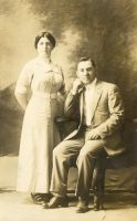 Molly Fagelson and Abe Horwitz, the birth parents of Milton.