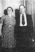 Rose and Abe Horwitz- standing- about 1942