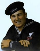 Harry Howard in Navy uniform