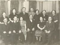 Horwitz first generation husbands and wives. From Left to Right Simon- Morris-Bessie- Max- Florence- Reuben