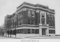 Marion, Grant County, IN Masonic Temple, ca. 1913