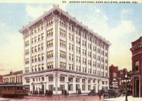 Marion, Indiana National Bank, ca. 1917