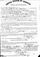 Leo Mayland Petition for Naturalization
