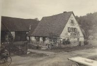 Johan Georg Andreas Wehrwein (1807-1879) House in Schonaich, Baveria, Germany, 1925